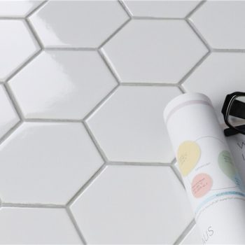 Gạch mosaic gốm Hex RYG234B